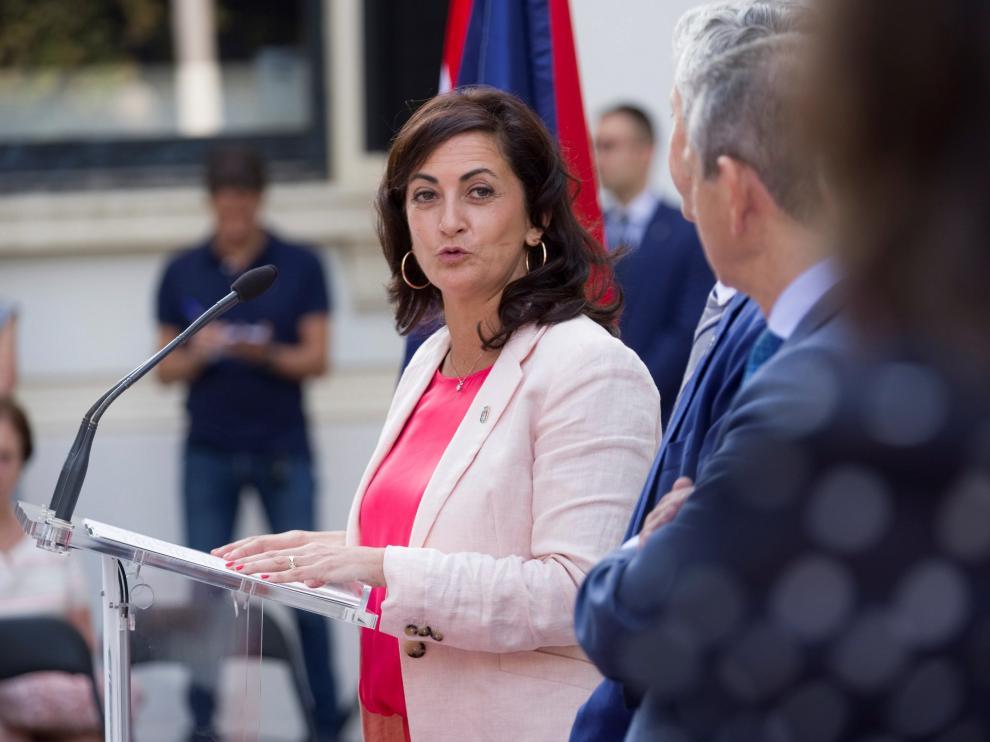 La presidenta del Gobierno de La Rioja, la socialista Concha Andreu.