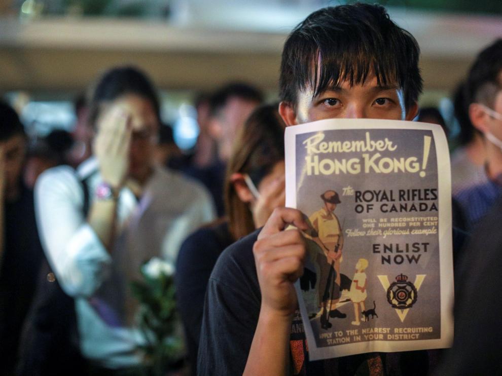 Las protestas en Hong Kong contra el gobierno prosiguen