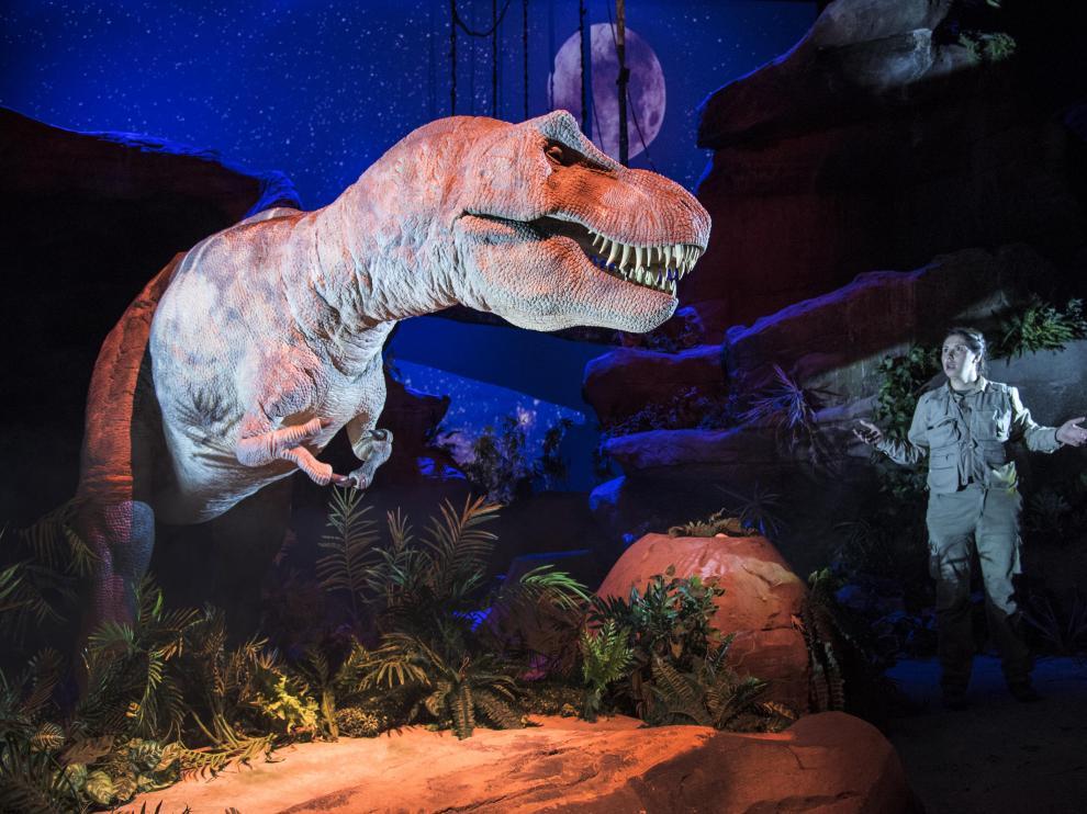 T-Rex Show, una atracción de Dinópolis en Teruel renovada para la presente campaña estival.