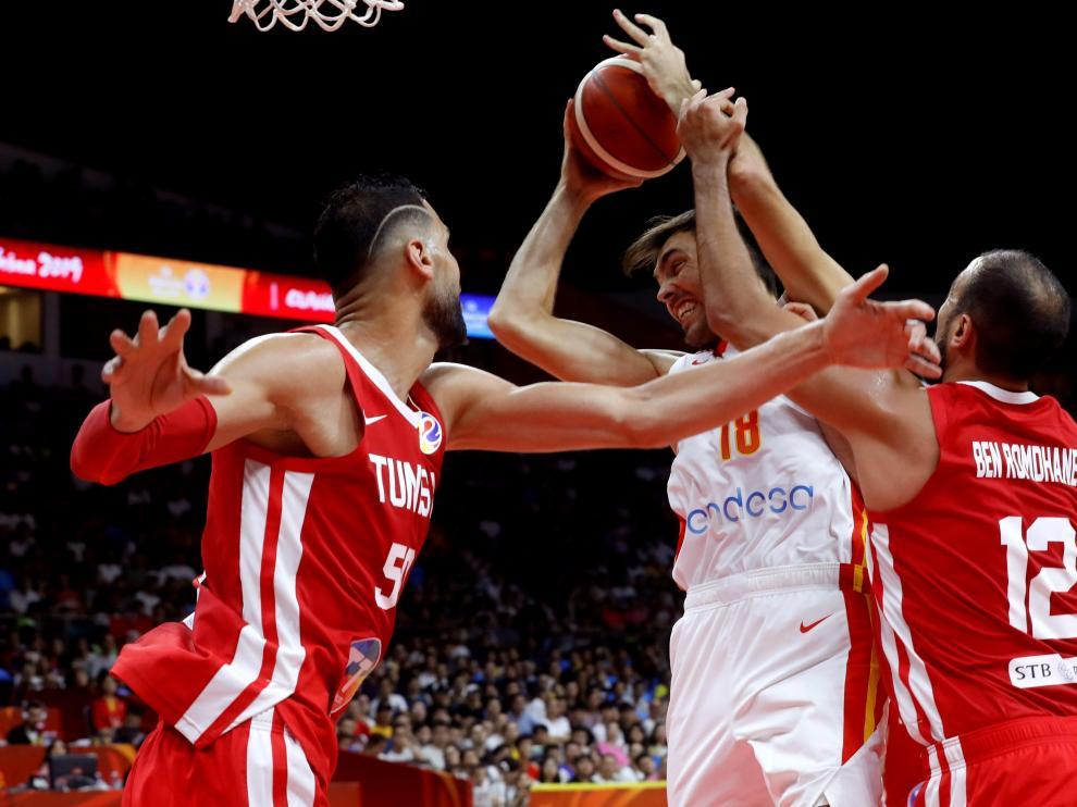 España gana en Túnez en su primer partido del Mundial