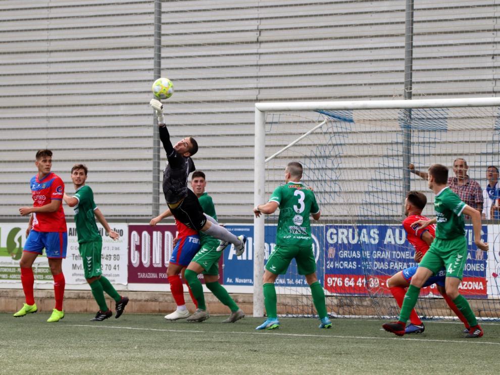 Fútbol. Tercera División- Tarazona vs. Cuarte.