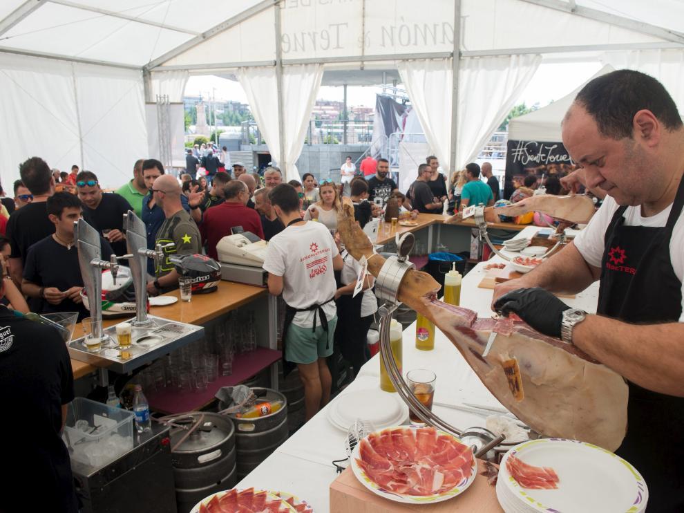 Feria del Jamón de Teruel de la edición de 2018
