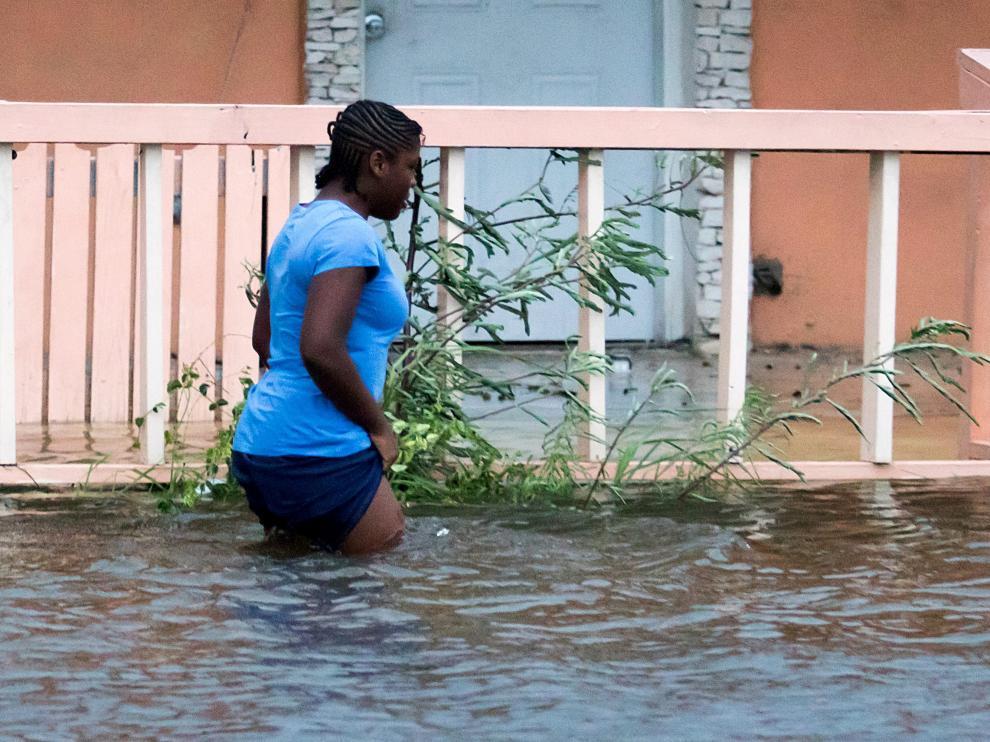 Los efectos del paso del huracán Dorian por Bahamas.