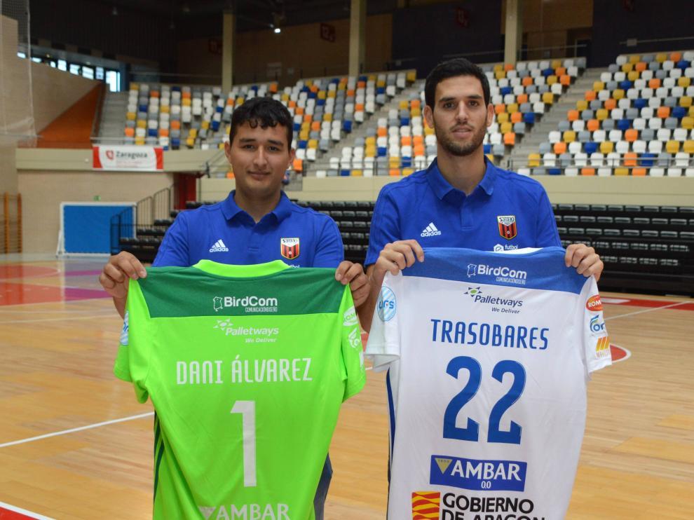 Trasobares y Dani Álvarez llegan al Fútbol Emotion con ganas de progresar.
