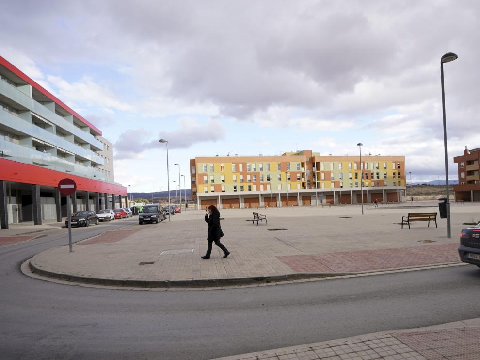 Urbanizacion Poligono sur en Teruel. Foto Antonio Garcia/bykofoto. 15/03/18 [[[FOTOGRAFOS]]]