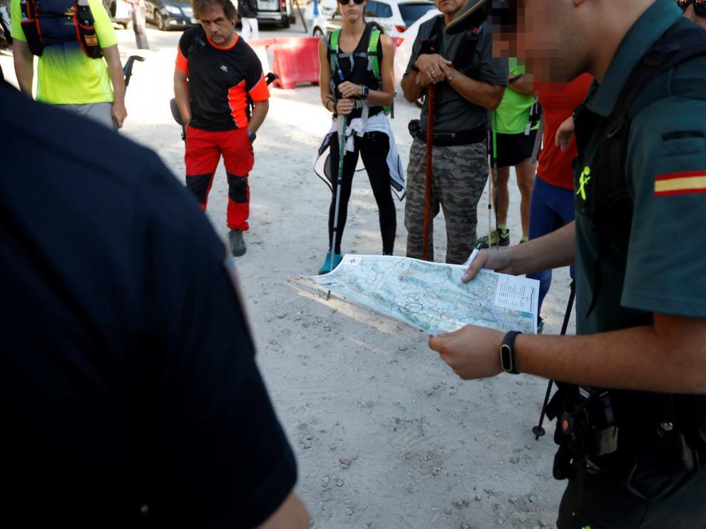 Encuentran el cadáver de Blanca Fernández Ochoa en el pico la Peñota de Cercedilla.