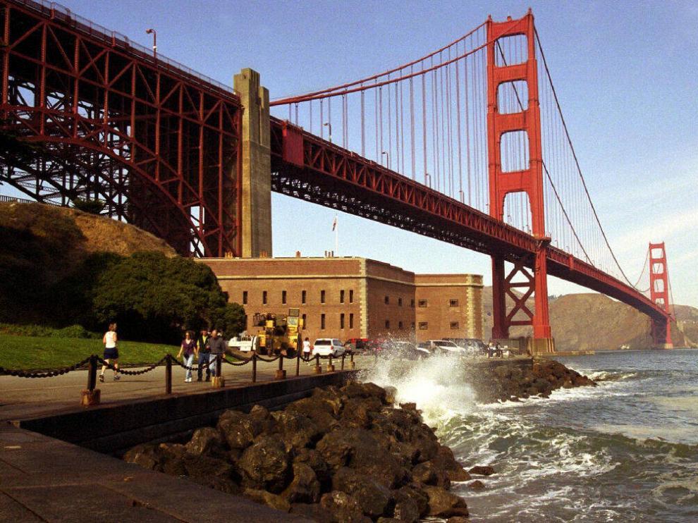 Imagen del emblemático puente Golden Gate de San Francisco.