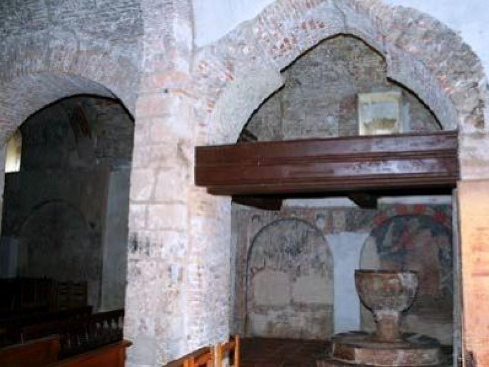 La techumbre mudéjar data del siglo XIV.