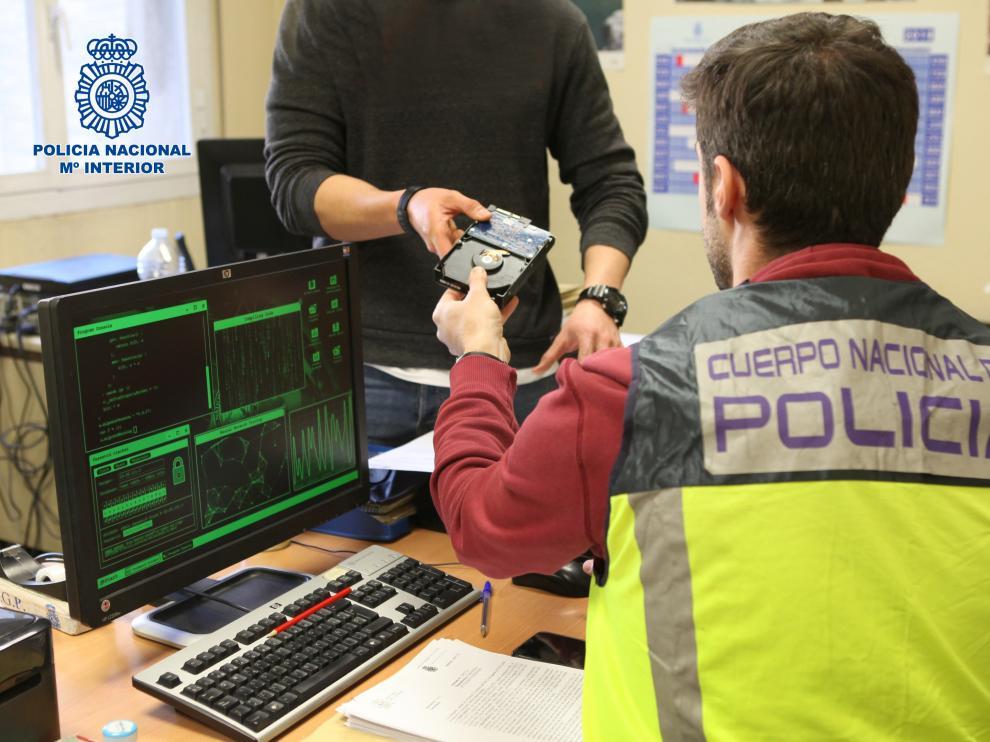 Oficina de Delitos Tecnológicos de la Policía Nacional