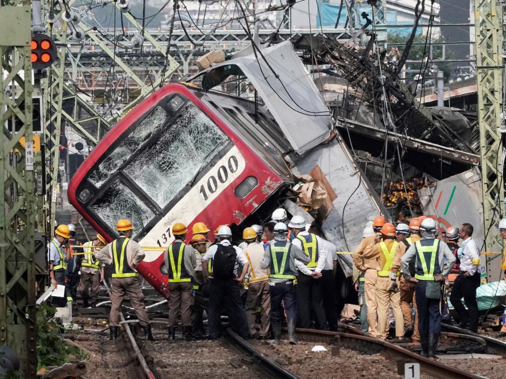Trágico accidente en Japón.