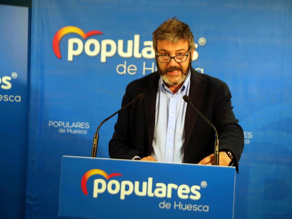 Gerardo Oliván, concejal y diputado provincial del PP.