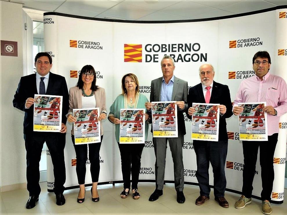 Presentación de la Copa Aragón.