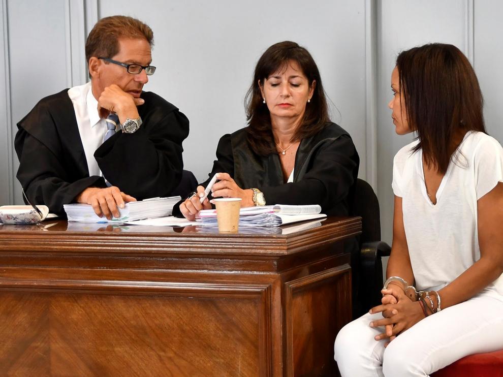 Ana Julia, en el juicio.