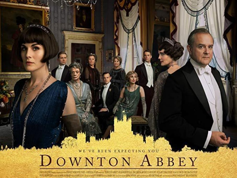 Cartel de la película 'Downton Abbey'.