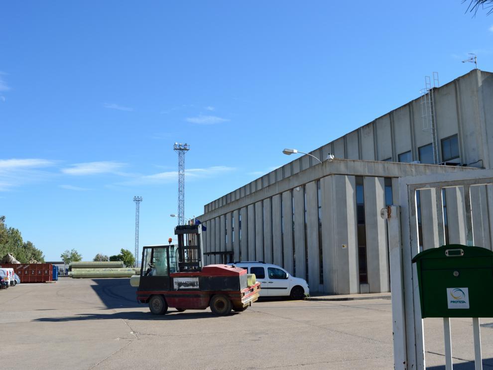 Imagen de archivo de las instalaciones de Future Pipe, antigua Protesa, en Ejea de los Caballeros