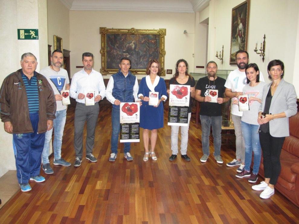 Presentación de Tradicionate en el Ayuntamiento de Teruel.