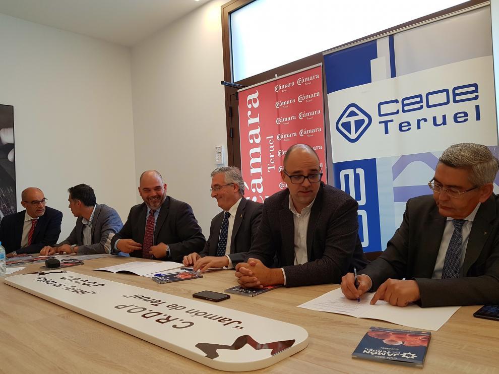 Constitución de la Comisión Agroalimentaria de la Cámara de Comercio de Teruel.