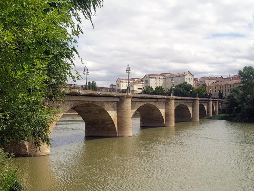 Puente de Piedra de Logroño.