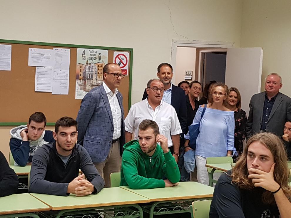 El impulso al campus digital y la apertura de 20 nuevos ciclos marcan el inicio de curso de la FP en Aragón