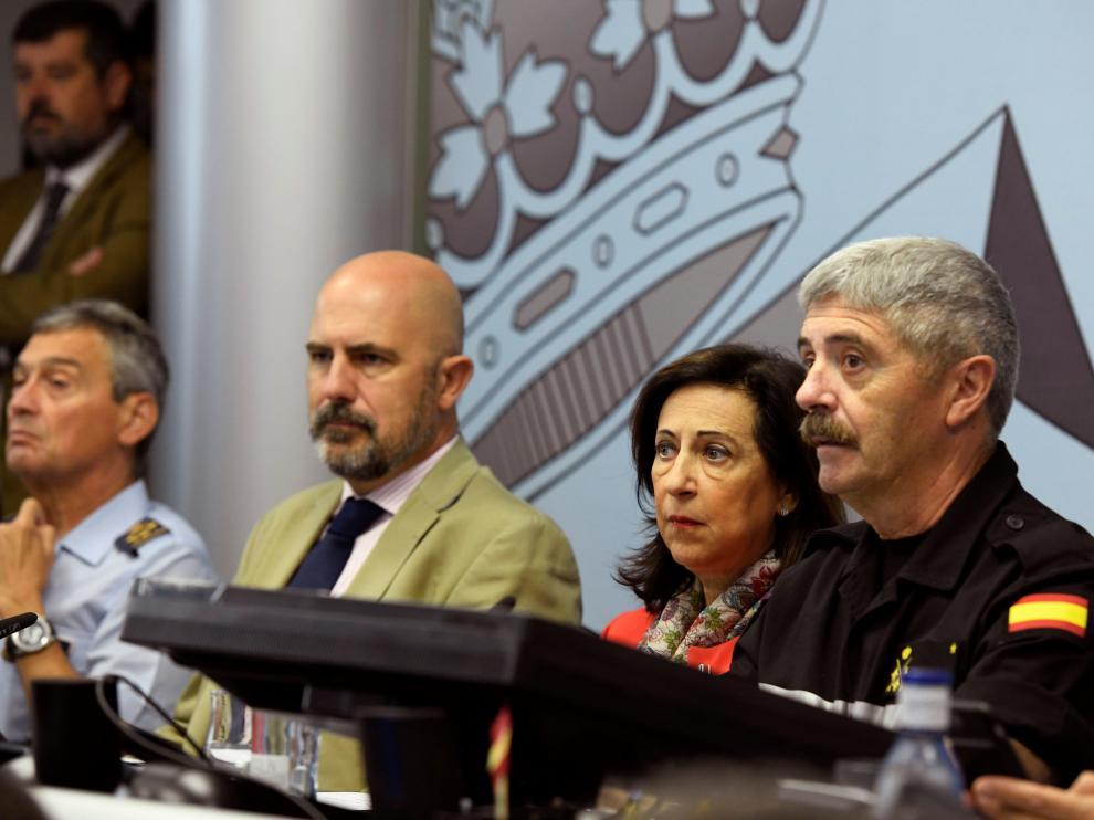 Desplegados más de 1.100 militares en Murcia y Alicante por la gota fría