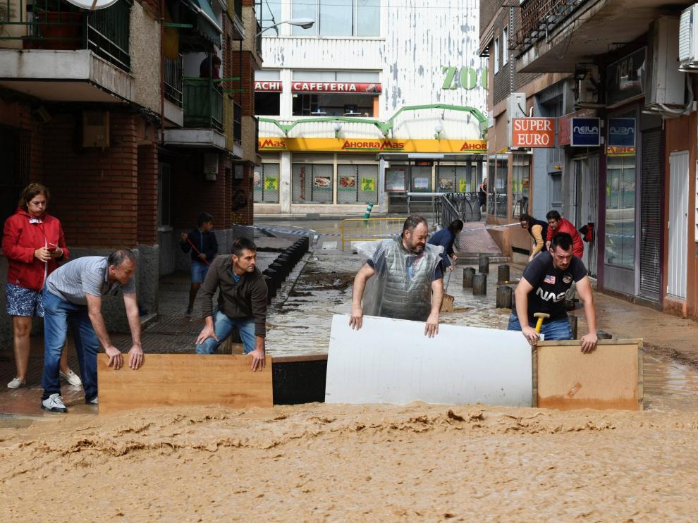 Inundaciones en Arganda del Rey