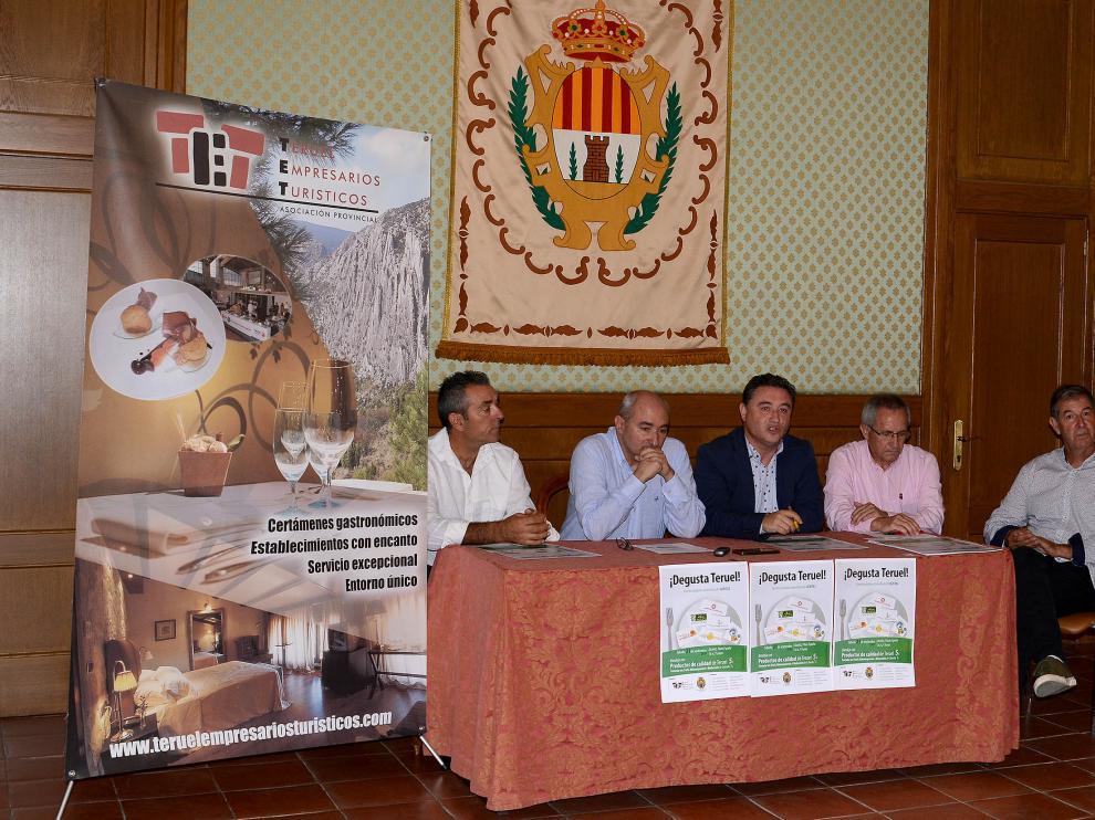 Presentación de 'Degusta Teruel' este martes.