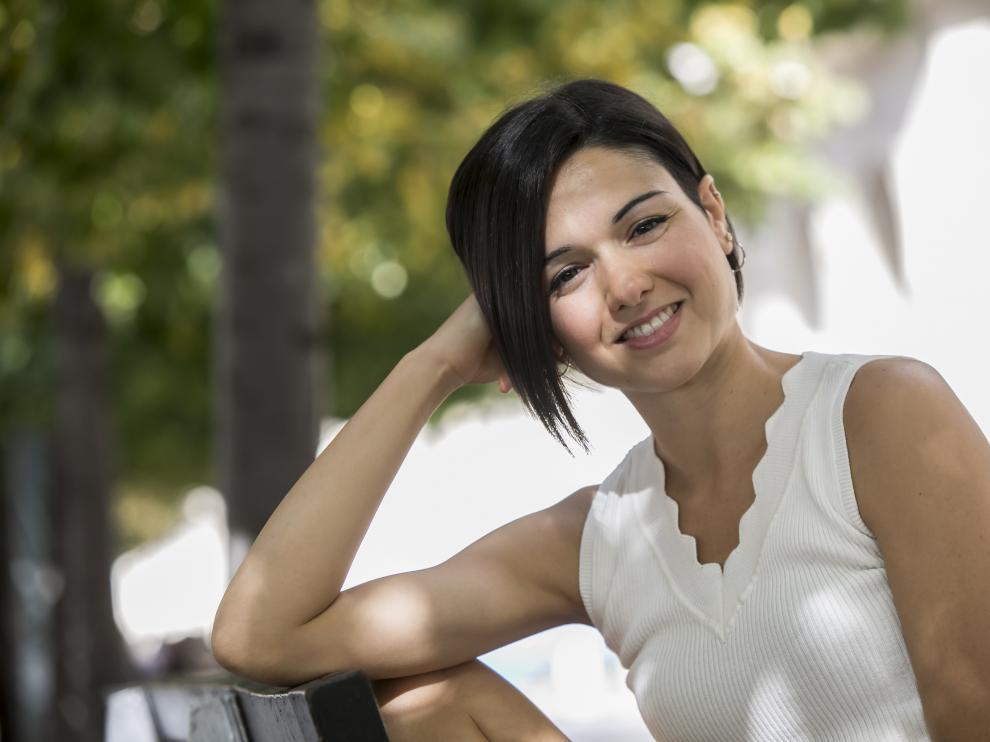 Patricia García Gil estudió piano en el Conservatorio Superior de Música de Aragón.