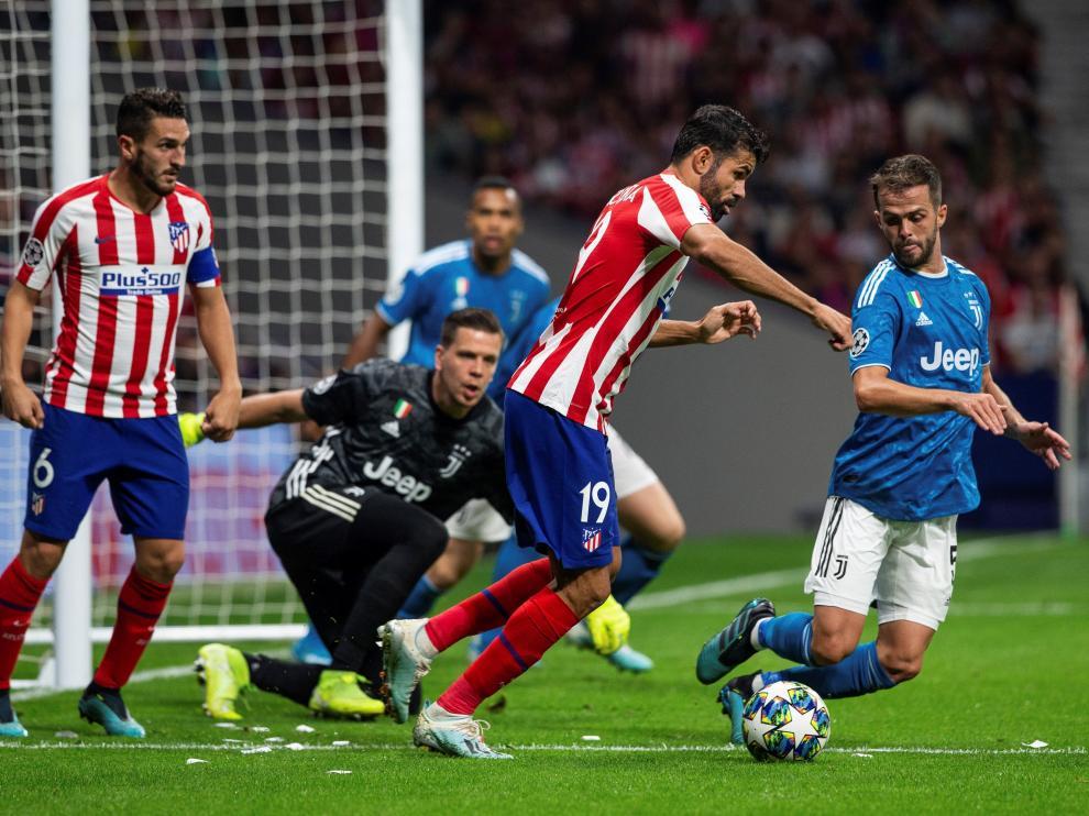 Atlético de Madrid-Juventus.