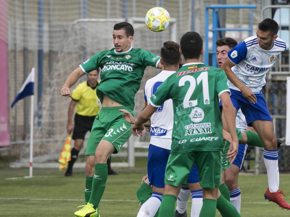 Fútbol. Tercera División- Deportivo Aragón vs. Cuarte