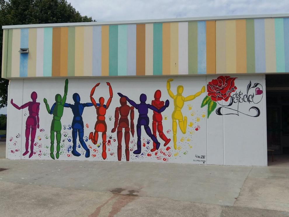 Una imagen del Colegio Público de Educación Especial Segeda, en Calatayud, donde han empezado el curso sin enfermera.