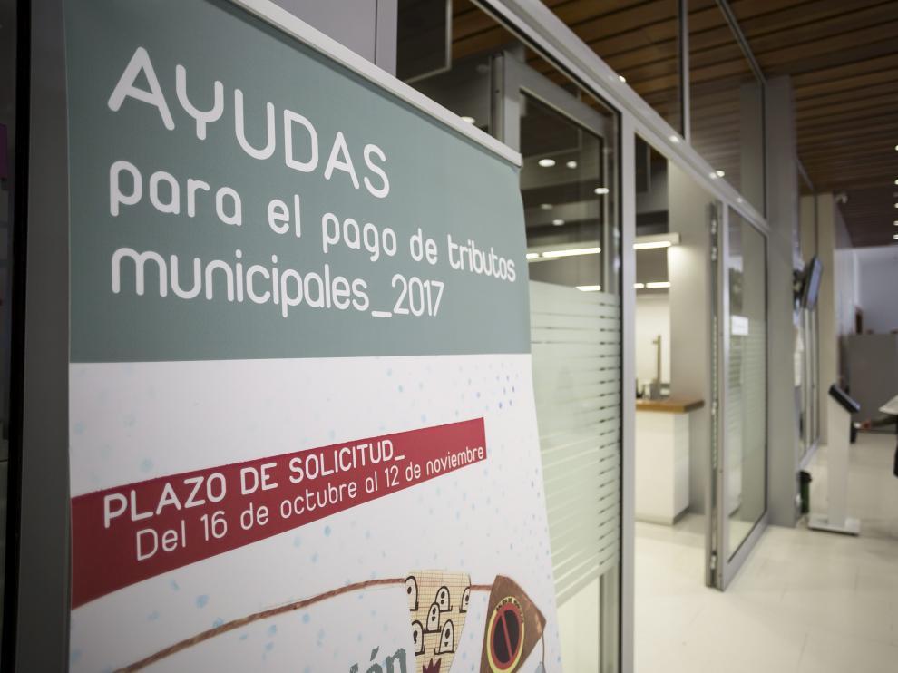 Dependencias de la Agencia Tributaria municipal, en el Edificio Seminario.