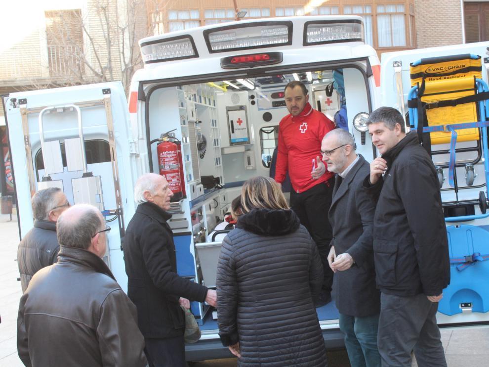 Cruz Roja Monzón cuenta con ambulancia propia desde febrero.