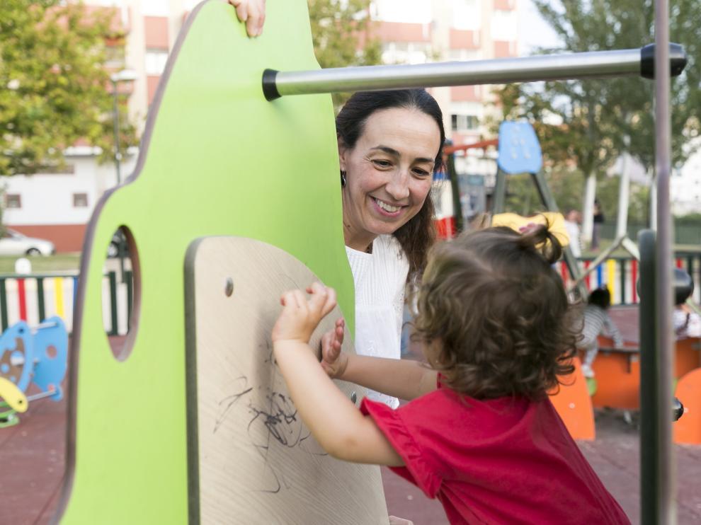 Laura Artal decidió hace dos años tener sola a su pequeña Valeria.
