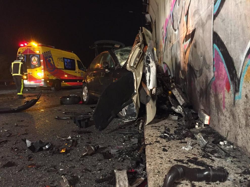 Un juez ordena detener al kamikaze que mató a un conductor en la M-50 de Madrid