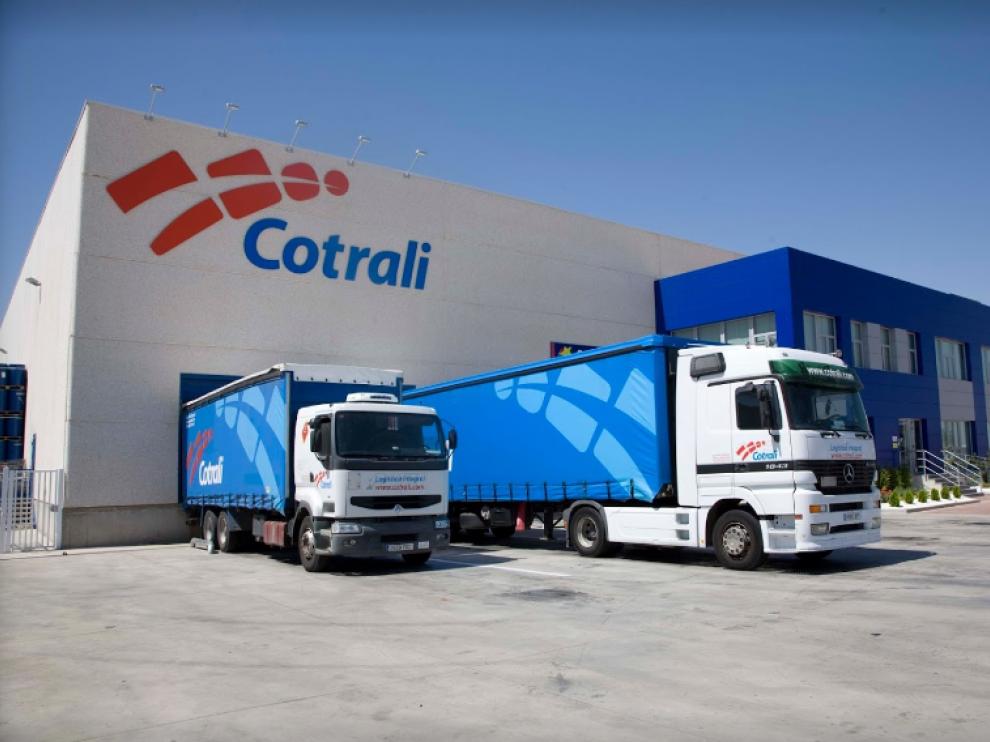 Centro logístico de Cotrali en Plaza.