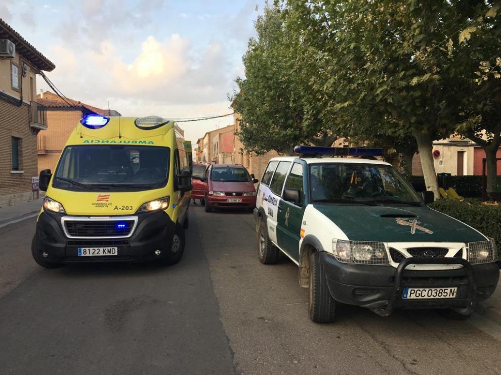 La señora, en avanzado estado de gestación, estaba siendo trasladada por un familiar desde Boquiñeni a Zaragoza, pero al ponerse de parto, decidieron parar el vehículo en Luceni.
