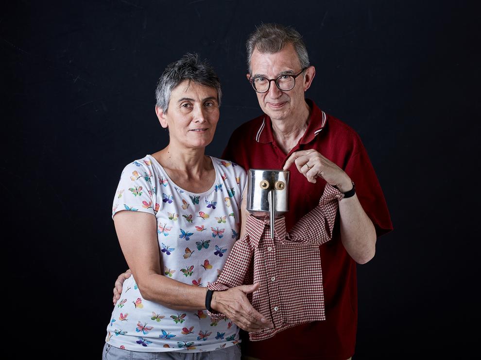 Araceli Gil y Domingo Castillo, de Teatro de Medianoche, son los creadores de Oleico.