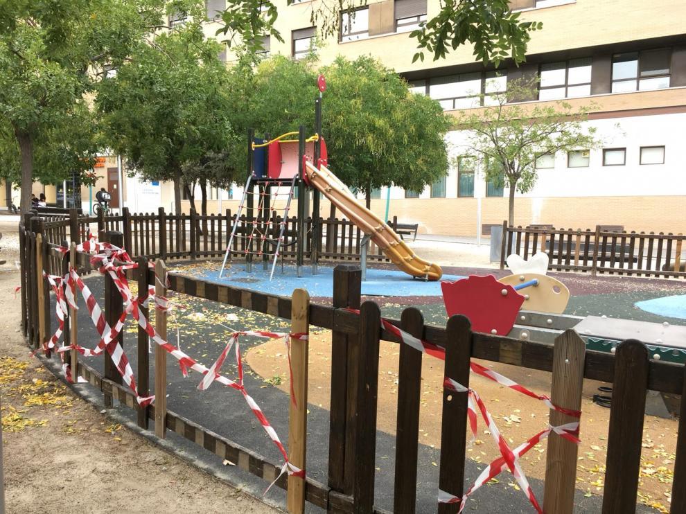 Parque de la avenida de Cataluña