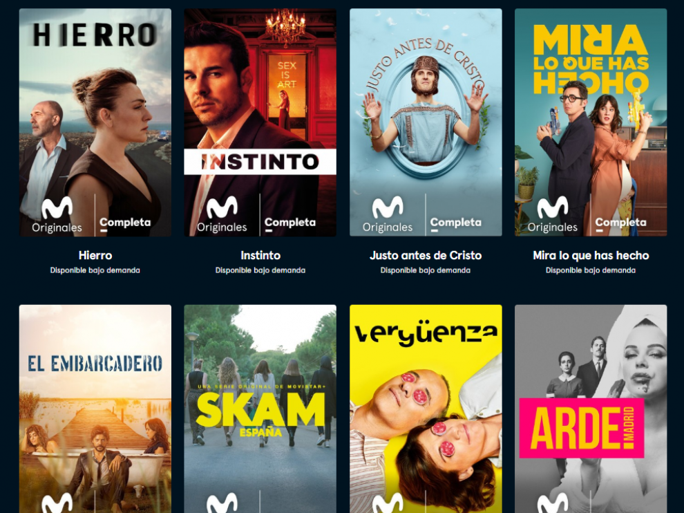 Series originales de Movistar +