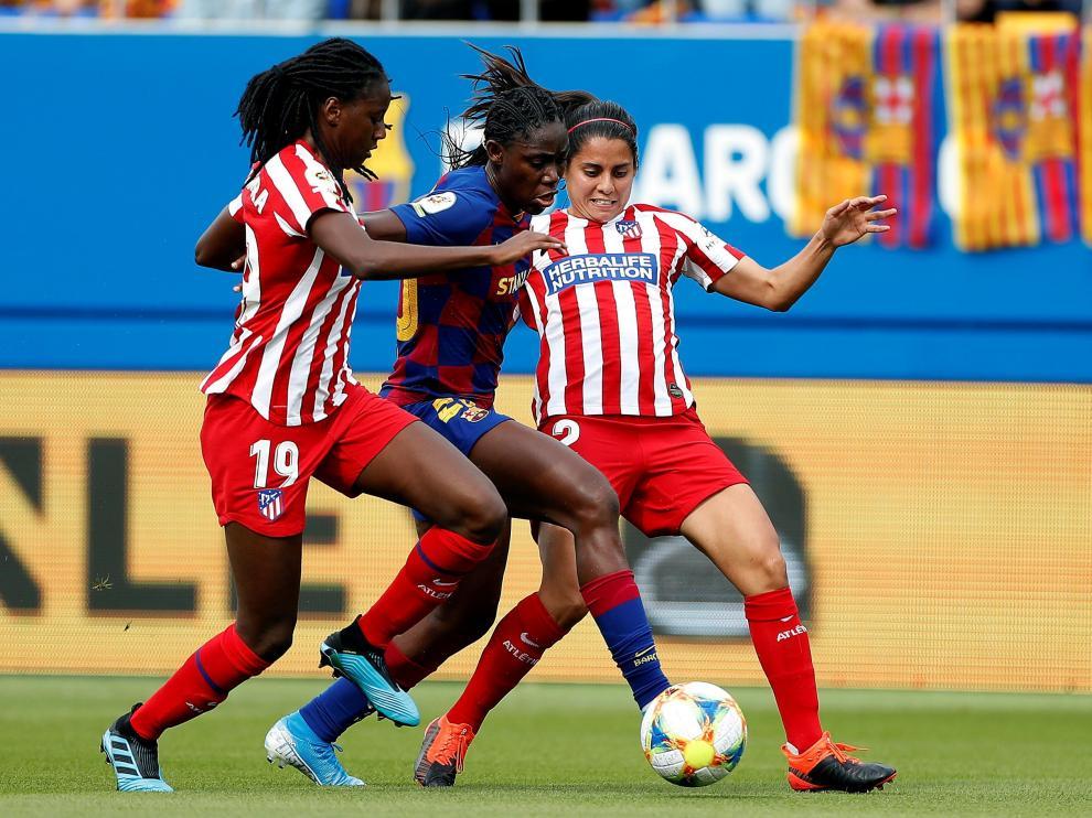 Barcelona-Atlético de fútbol femenino.