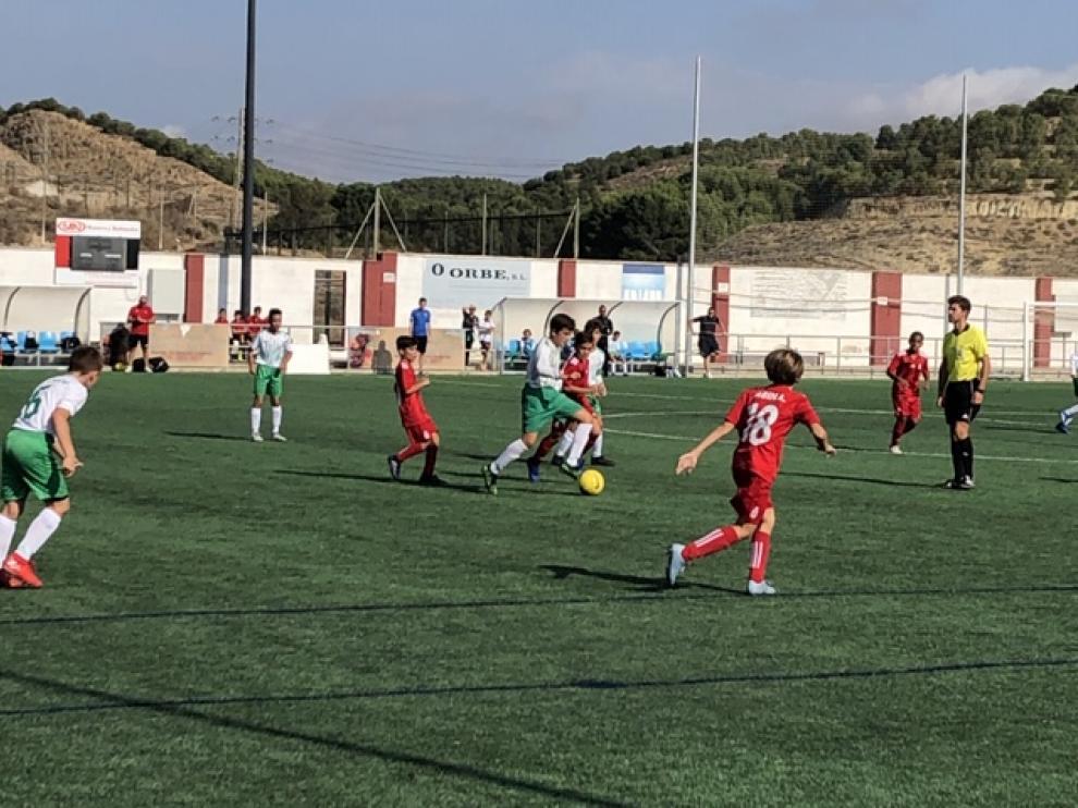 Fútbol. Alevín Preferente- Amistad vs. El Olivar.
