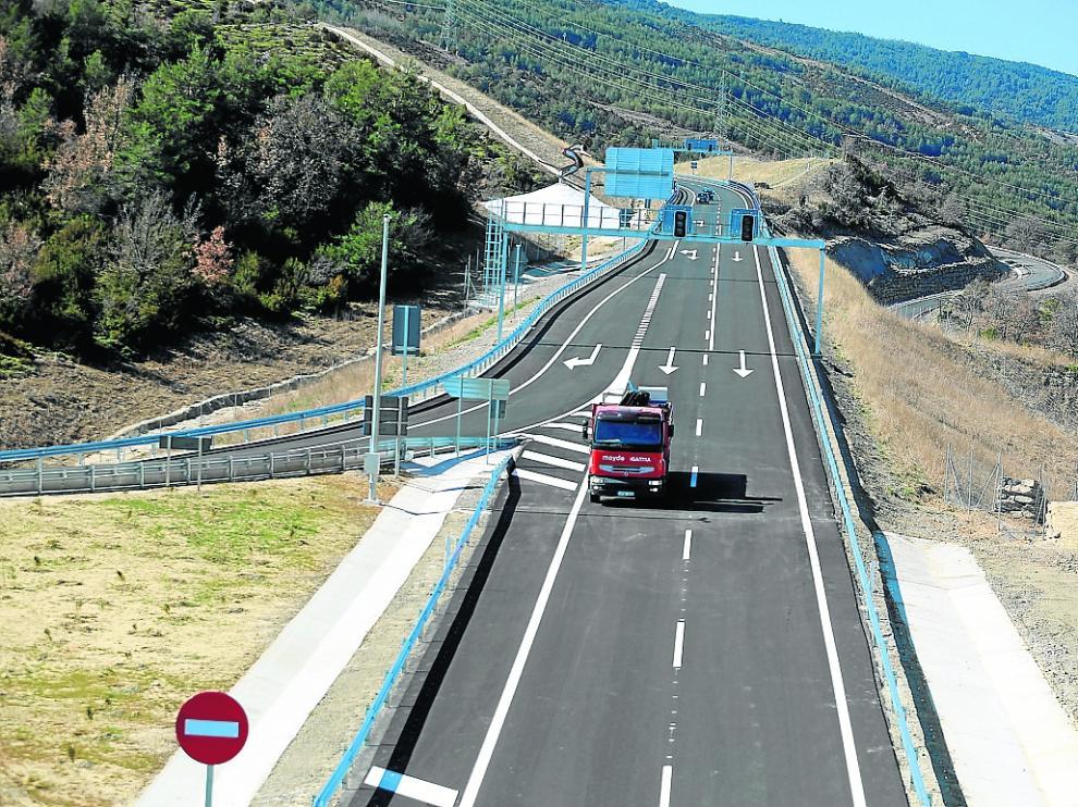 Fomento no podrá licitar las obras del tramo de la A-23 pendiente entre Lanave y Sabiñánigo.