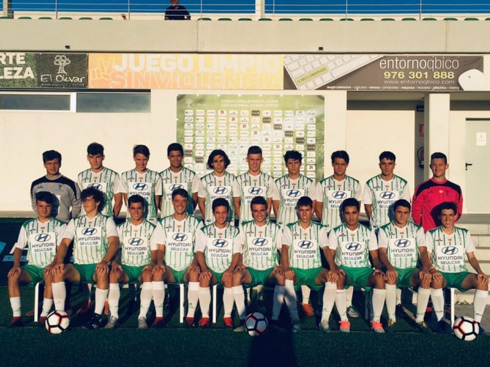 Plantilla de El Olivar Liga Nacional Juvenil.
