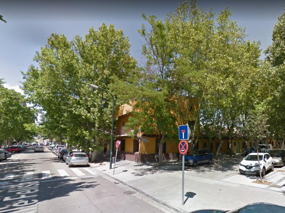 Calle de Felisa Galé, en el barrio de La Jota de Zaragoza.