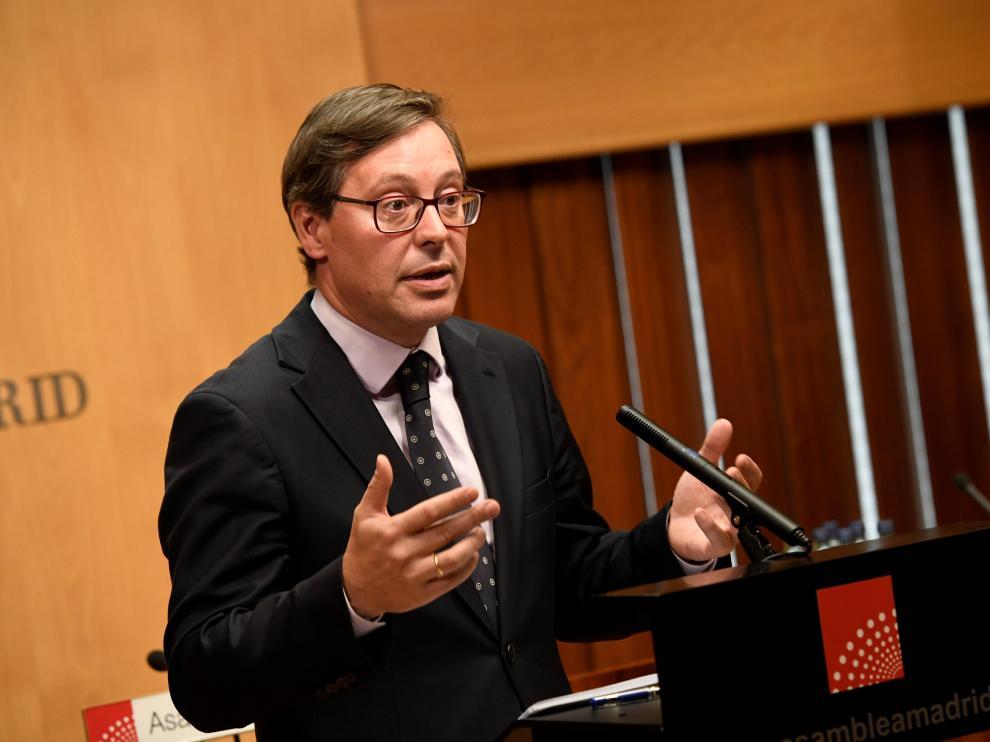 El portavoz del PP, Alfonso Serrano