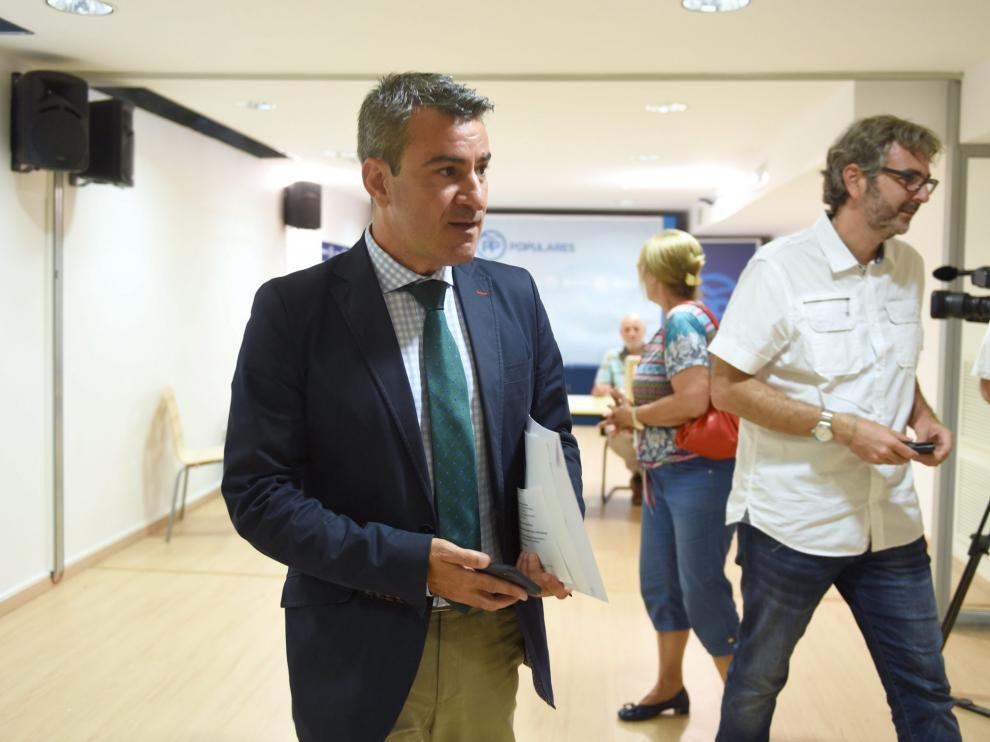 José Antonio Lagüens, presidente provincial del Partido Popular.