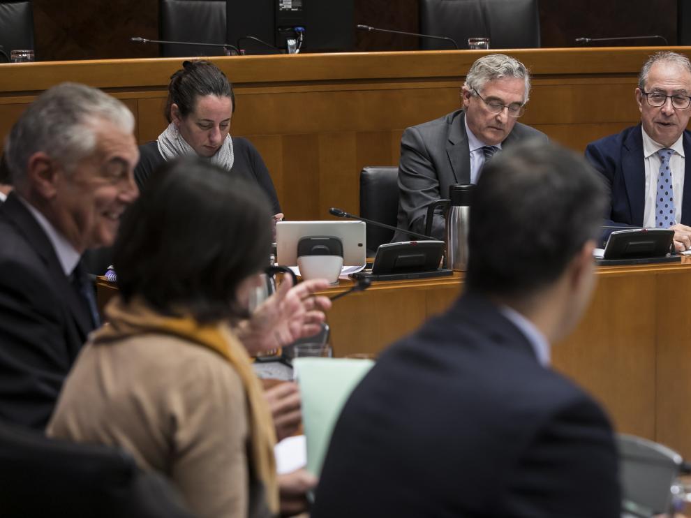 La comisión del ICA, en una imagen de archivo