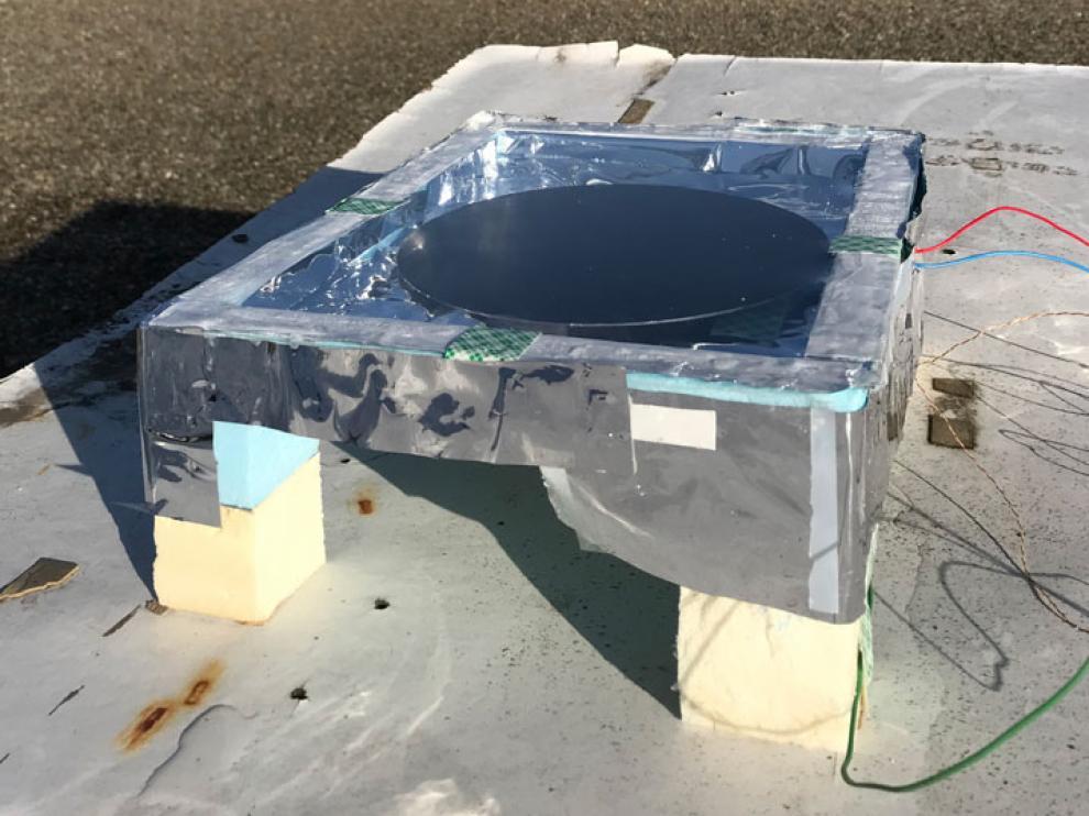 El prototipo ensayado es capaz de alimentar una pequeña bombilla led