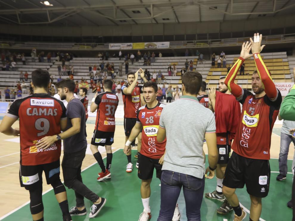 Partido balonmano Bada Huesca Benidorm/ 27-9-19/ Foto: Rafael Gobantes [[[FOTOGRAFOS]]]