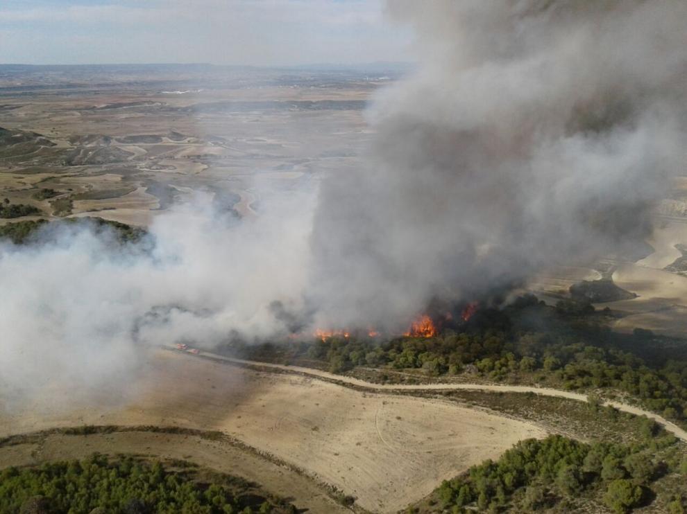 Incendio en Peñaflor